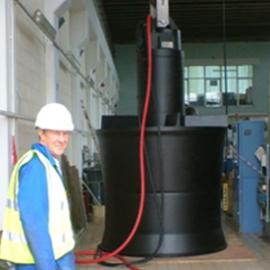 large submersible pump