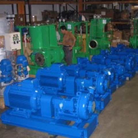Ballast Pumps and Mud Pumps