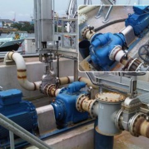 Fuel oil/ Gas oil circulation / Loading / Stripping Pumps